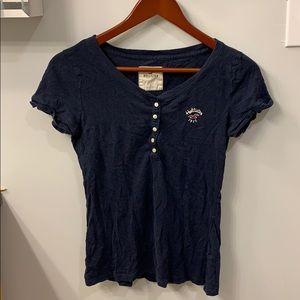 Hollister Henley t-shirt